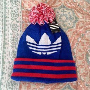 NWT✨ Adidas Warm Beanie Winter Hat Fleece Lined